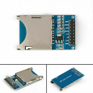 1x Sd Card Module Slot Socket Reader For Arm Mcu Read And Write Ca