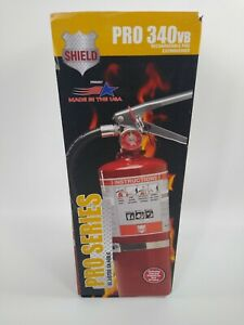 Shield Pro 340vb 5lb Rechargable Fire Extinguisher New Sealed Some Have Box Wear