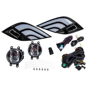 3 Color Led Turn Signal Lamp Fog Light Wiring Kit Fit For Camry Se Xse 18 20