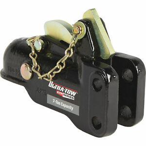 Ultra Tow Xtp Auto Locking Trailer Coupler 7 Ton Capacity Fits 2 5 16in Ball