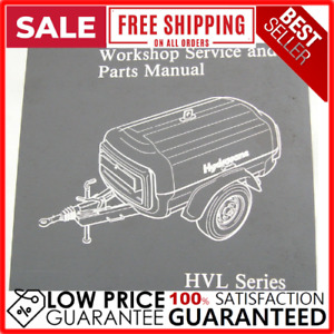 Hydrovane Hvl 4 5 6 Series Service Repair Workshop Manual 275 Pages By Email