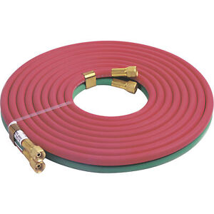 Lincoln Electric Oxy acetylene Hose 1 4in Diax25ftl 100 Psi Model Kh578