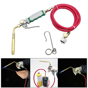 Mapp Gas Welding Torch Kit For Outdoor Picnic Propane Cooking Soldering Gun