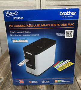 New Brother P touch Pt p700 Pc connectable Label Maker For Pc Mac