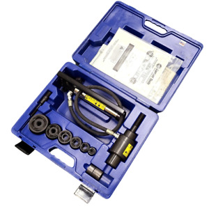 Current Tools 152 Standard Hydraulic Knockout Set 1 2 To 2