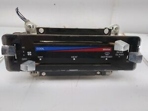 1982 1986 Ford Bronco Climate Control With Rear Glass Switch 83 84