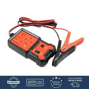 12v Universal Electronic Automotive Relay Tester For Cars Auto Battery Checker