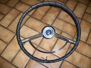 1964 1966 Plymouth Valiant Barracuda 16 Steering Wheel Horn Assembly 1965