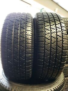 Set Of 2 Used 235 60 15 98t Viper Tr Radial Gt M S High Thread