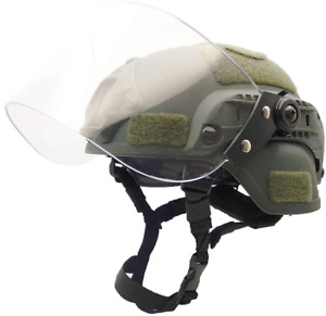 Airsoft Tactical MICH2000 Helmet with Visor Face Protection $52.67