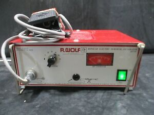 Wolf 2075u Bipolar Electro Surgical Generator With Footswitch
