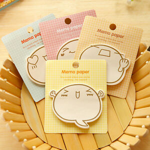 2x Planner Stickers Sticky Notes Cute Stationery Supplies Memo Pad Stick Wcm