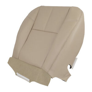 Leather Driver Bottom Seat Cover For 2007 2014 Chevy Silverado 1500 2500hd 3500h