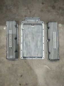 Corvair Offenhauser Valve Covers And Pan Set