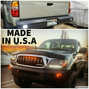Off Road Bumpers Set For Toyota Tacoma First Gen 95 04 Front And Rear