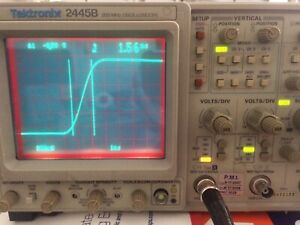 Tektronix 2445b 200mhz 4ch Analog Oscilloscope With Tv Sync Opt 5 Calibrated