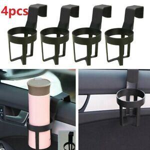 4pcs Universal Car Auto Truck Drink Water Cup Bottle Can Holder Door Mount Stand