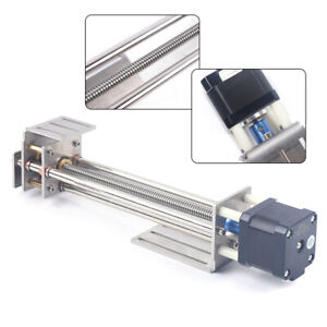 150mm Z axis Linear Stage Slide Milling Engraver Ball Screw Linear Slide Stage