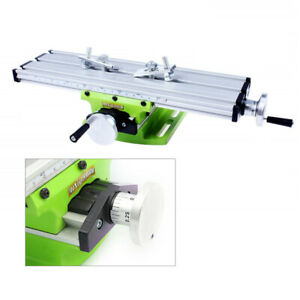 Mini Milling Machine Bench Fixture Worktable Cross Slide X Y Table Drill Vise