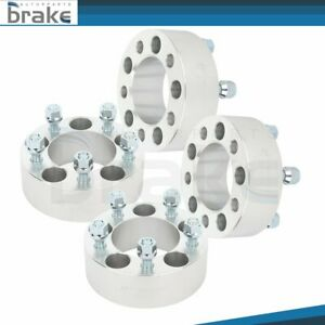 4x Wheel Spacers 5x4 5 2 Thick 1 2 Stud For Jeep Wrangler Ford Ranger Explorer
