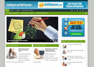 Cash In On Paid Surveys Website With Affiliates Make Money From Home