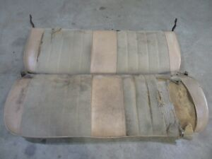 1986 Dodge Power Ram Truck Interior Front Bench Seat Frame Cushion Parts