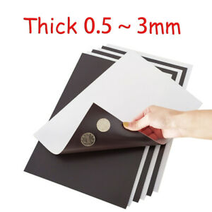 Magnetic Tape Self Adhesive Backed A4 0 5 1 1 5 2 3mm Diy Teaching Soft Magnet