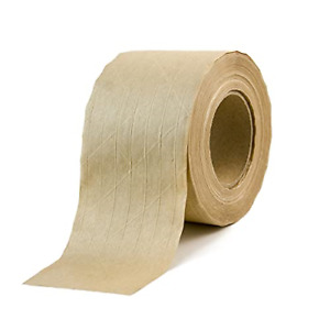 Water activated Kraft Paper Tape reinforced Brown Packing Gum Tape For Shipping