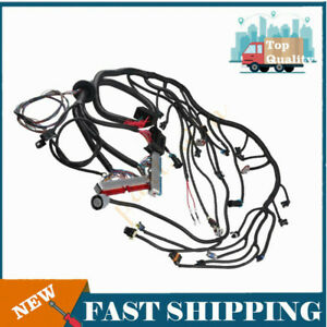 For 97 06 Dbc Ls1 Engines Standalone Wiring Harness W 4l60e 4 8 5 3 6 0 Vortec