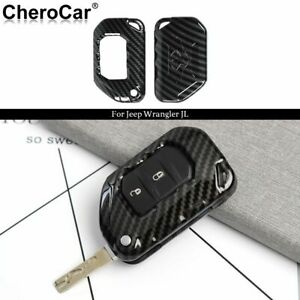For Jl Jt Jeep Key Fob Cover Skin Case Protection For 18 Jeep Wrangler Jl Jlu P