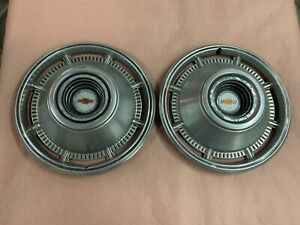 1966 Chevy Impala 14 Wheel Covers Hubcaps