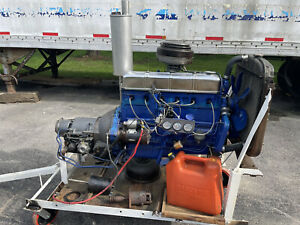 Rare 53 Chevy Stovebolt And 2 Speed Powerglide Transmission Only Has 46 Miles