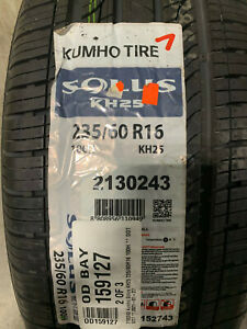 4 New 235 60 16 Kumho Solus Kh25 Tires Fits 23560r16