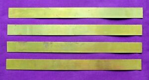 Letterpress Printing Adana 5 X 12 Dotted Brass Rules Strips Type High No 317