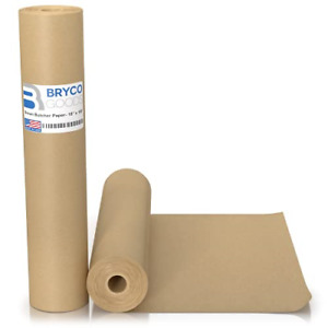 Brown Kraft Butcher Paper Roll 18 Inch X 100 Feet Brown Paper Roll For And Bbq