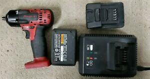 Snap On Ct8810a Cordless Impact Wretch Gun Battery 3 8 Drive Used 18v