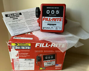 Fill rite 807cl Mechanical Flow Meter 19 To 75 Lpm 3 4 Ports