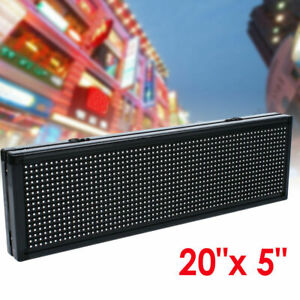 Full Color Semi Outdoor Led Sign Programmable Scrolling Message Board 100 240v
