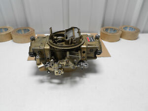 Real 1970s 4781 Holley 4bbl Carburetor 850 Cfm Double Pumper Race Carb Usa Made