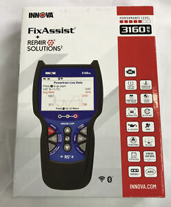 Innova 3160rs Fixassist Code Reader Scan Tool With Repair Solutions 2