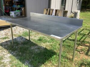 Six foot Stainless Steel Table