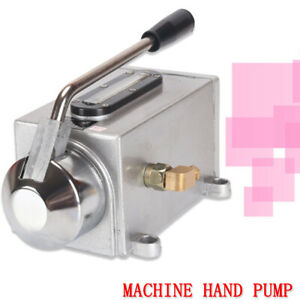 Manual Lubricating Oil Pump Hand Lubrication For Cutting Milling Machine Us