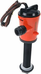 12v 800gph Livewell Pumps Submersible Aerator Pump For Boats