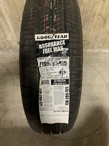 4 New 195 65 15 Goodyear Assurance Fuel Max Tires