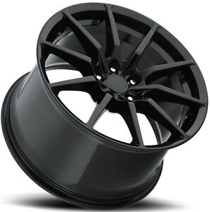 Mrr M350 Flow Forge Fit Mustang 19x10 19x11 5x114 3 40 55 Black Wheels 4
