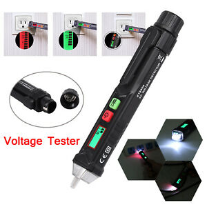 Ac Non contact Lcd Electric Test Pen Voltage Digital Detector Tester 12 48 1000v