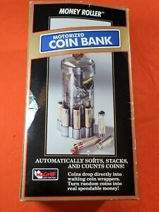Vintage Money Mill Motorized Coin Bank 1994 Magnif Made In Usa