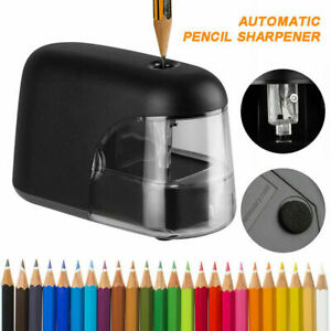 Us Electric Pencil Sharpener Automatic Battery Power Operated Desktop School