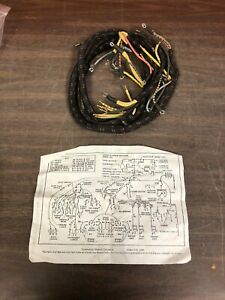 1940 Ford Pickup Truck Dash Cowl Wiring Harness 01c 14401 New Nors 921