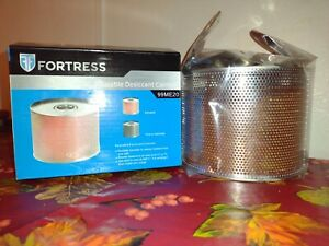 Fortress Reusable Desiccant Canister 99me20 Removes Moisture Opened Box Pictures